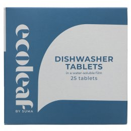 Ecoleaf Dishwasher Tablets - 25 Tablets