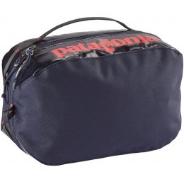 Patagonia Black Hole Cube Bag - Medium - Navy & Red