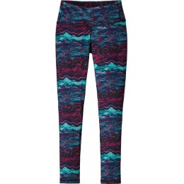 Patagonia Womens Canyon Glades Centered Tights - Craft Pink