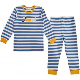 Sense Organics Long John Boys Pyjamas - Dogs