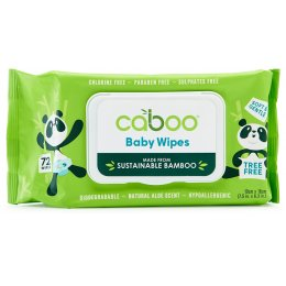 Caboo Bamboo Baby Wipes - Pack of 72