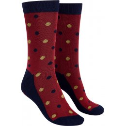 Mudd & Water Bamboo Small Polka Dot Ivy Socks