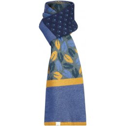 Mudd & Water Evergreen Knitted Navy Scarf