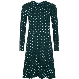 Mudd & Water Hourglass Dress - Green Polka Dot
