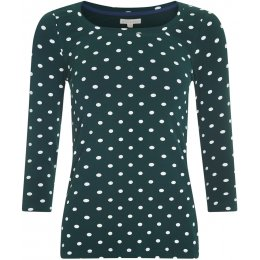 Mudd & Water Skies the Limit Top - Green Polka Dot