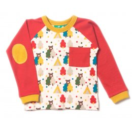 Red Bear Necessities Raglan Top