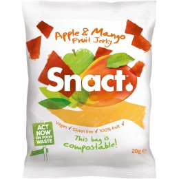 Snact Apple & Mango Fruit Jerky - 20g