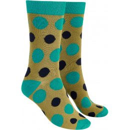 Mudd & Water Bamboo Large Polka Dot Ivy Socks