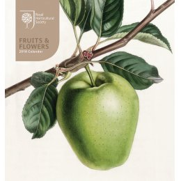 RHS Fruits & Flowers 2018 Easel Desk Calendar