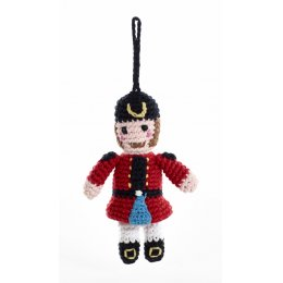 Knitted Nutcracker Christmas Decoration