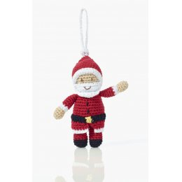 Knitted Santa Christmas Decoration
