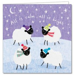 All is Calm, All is Bright Cards - 20 pack