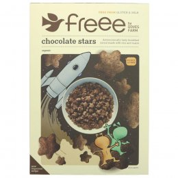 Doves Farm Gluten Free Organic Chocolate Stars Cereal - 300g