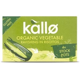 Kallo Organic Stock Pots - Vegetable - 96g