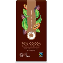 Traidcraft Fairtrade Organic 70 percent  Dark Chocolate - 100g
