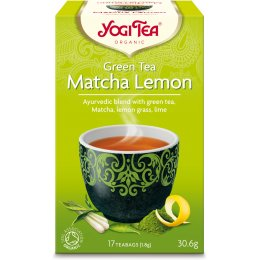Yogi Organic Matcha Lemon Green Tea - 17 Bags