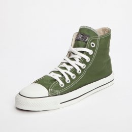 Classic Ethletic Hi Top Trainers - Olive