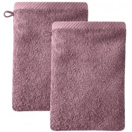 Barcelona Wash Glove - Light Plum - Pack of 2