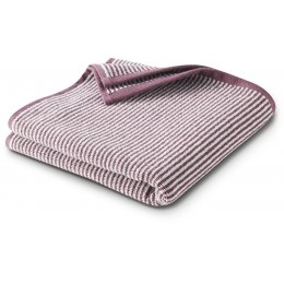 Barcelona Shower Towel - Light Plum Stripe - 140 x 70cm