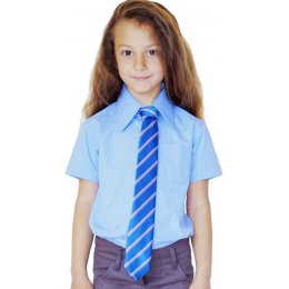 Blue Short Sleeve Shirt - 6yrs Plus