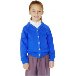 Organic Cotton School Cardigan - 9yrs Plus