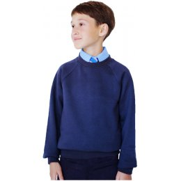 Organic Cotton School Sweatshirt - 9yrs Plus