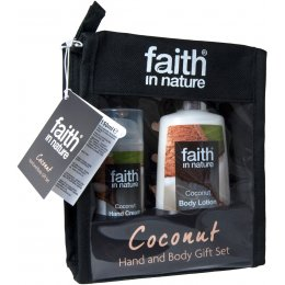 Faith in Nature Hand & Body Gift Set - Coconut