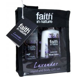 Faith in Nature Hand & Body Gift Set - Lavender