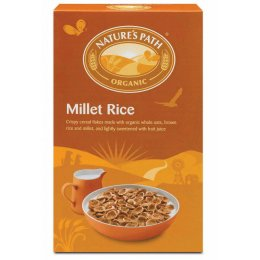 Natures Path Organic Millet Rice Flakes - 375g