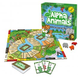 Alpha Animals Board Game