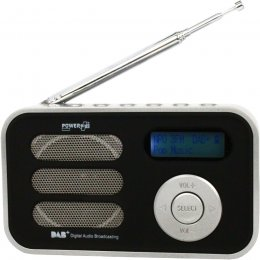 PowerPlus Stork Solar Powered DAB/FM Radio