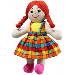 Lanka Kade Girl Doll - White Skin & Red Hair