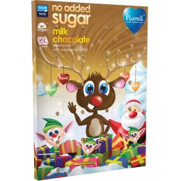 Plamil No Added Sugar Vegan Chocolate Advent Calendar - 125g