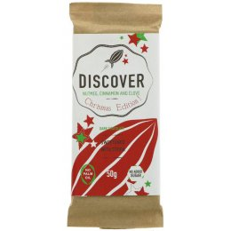 Discover Christmas Dark Chocolate 50g