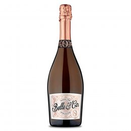 Belle & Co Alcohol Free Sparkling Rose