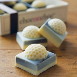 Handmade Chocolate Golf Balls - 90g