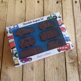 Handmade Chocolate Engines Set