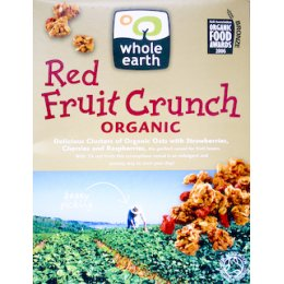 Whole Earth Organic Red Fruit Crunch - 450g