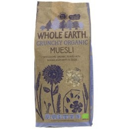 Whole Earth Organic Muesli - 750g