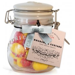 Cartwright & Butler Rhubarb & Custard Hard Boiled Sweets - 190g