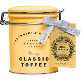 Cartwright & Butler Classic Toffees in Tin - 150g
