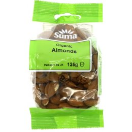 Suma Prepacks Organic Almonds 125g