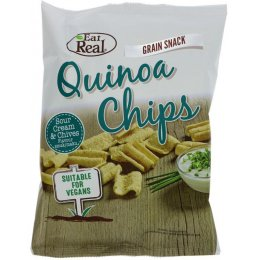 Eat Real Quinoa Chips - Sour Cream & Chives - 80g