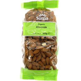 Suma Prepacks Organic Almonds - 500g