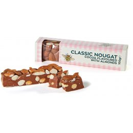 RHS Classic Cocoa Nougat with Almonds - 100g
