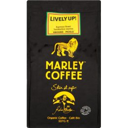 Marley Lively Up Espresso Roast Ground Coffee - 227g