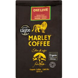 Marley One Love Medium Roast Ground Coffee - 227g