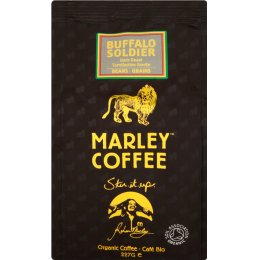 Marley Buffalo Soldier Dark Roast Whole Bean Coffee - 227g
