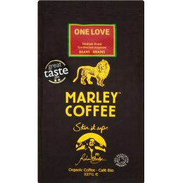 Marley One Love Medium Roast Whole Bean Coffee - 227g