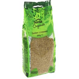 Suma Prepacks Organic Golden Linseed - 250g